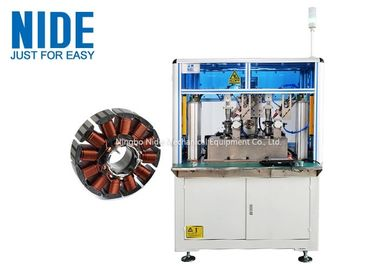 Automatic Fan DC Motor Stator Winding Machine 120 Rpm Efficiency Customized Color