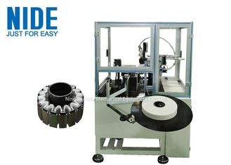 Automatic outer rotor paper folder inserter machine, Bldc outslot stator slot paper insertion