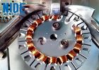 2 Stations Ceiling Fan Winding Machine / Table Fan Motor Stator Coil Winding Machine