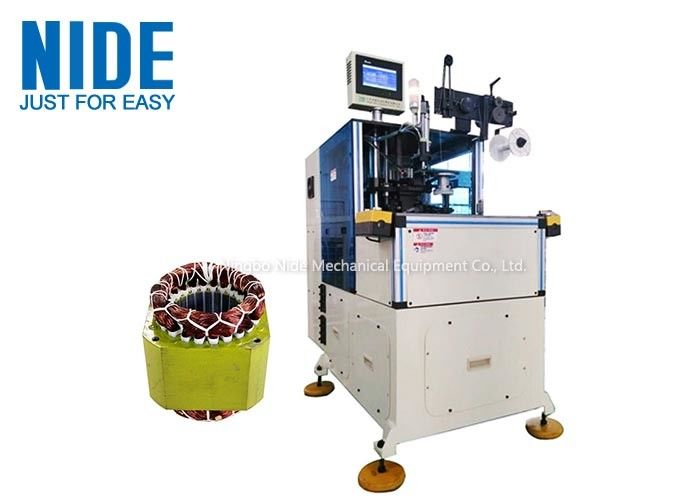 Auto Servo Double Sides Stator Coil Lacing Machine , Simple To Operation