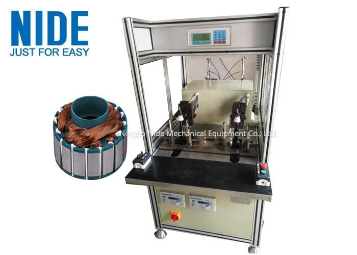 Single Flyer Bldc Armature Winding Machine , Outer Rotor Coil Winding Machine