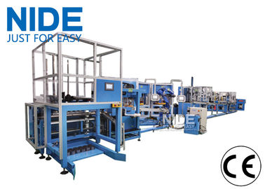 High Automation Motor Stator Rotor Assembly Line  Stator Winding Machine